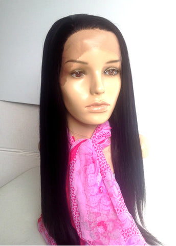 Dark brown stylish lace front