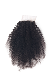 "14""-16"" Top Closure Kinky Curly Premium Virgin Remy Hair"