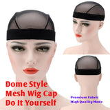 Make your own wig mesh cap for sew in or glue