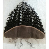 deep wave lace half frontal ear to ear