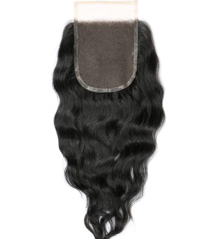 natural wave lace top closure virgin human hair
