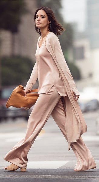 The Pyjama Look - From the sheets to the streets...