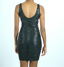 XBlack Sheer Bandage Dress