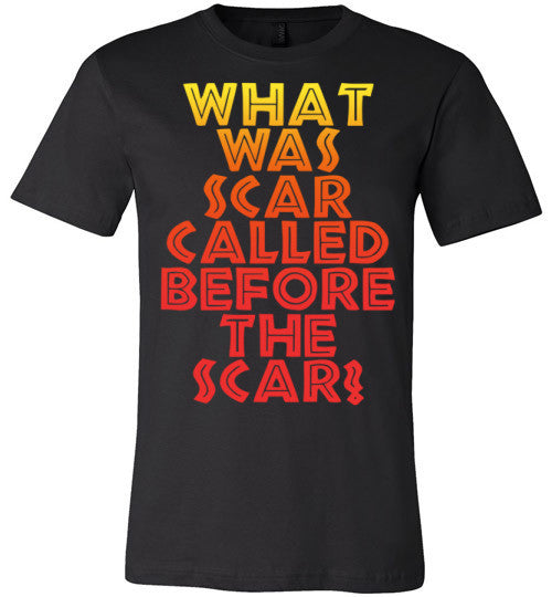What Was Scar Called Before The Scar? - Lion King Shirt | Unisex White T-Shirt | Eternal Weekend - 2