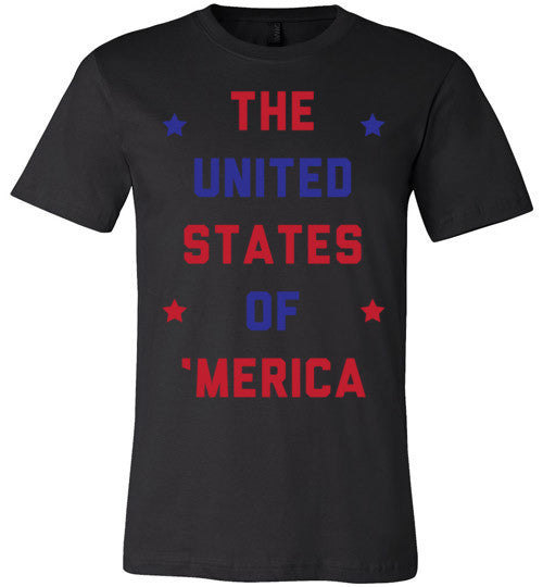The United States Of 'Merica | Unisex Gray T-Shirt | Eternal Weekend - 3