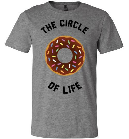 The Circle Of Life (Donut) | Unisex White T-Shirt | Eternal Weekend - 2