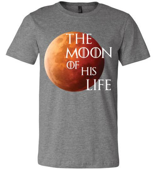 The Moon Of His Life | Unisex Black T-Shirt | Eternal Weekend - 2