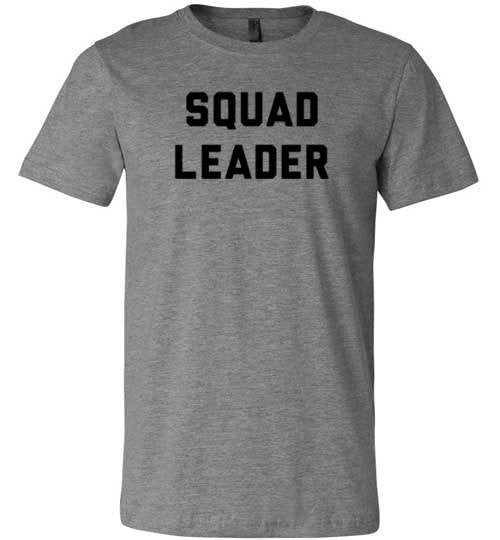 Squad Leader | Unisex White T-Shirt | Eternal Weekend - 2