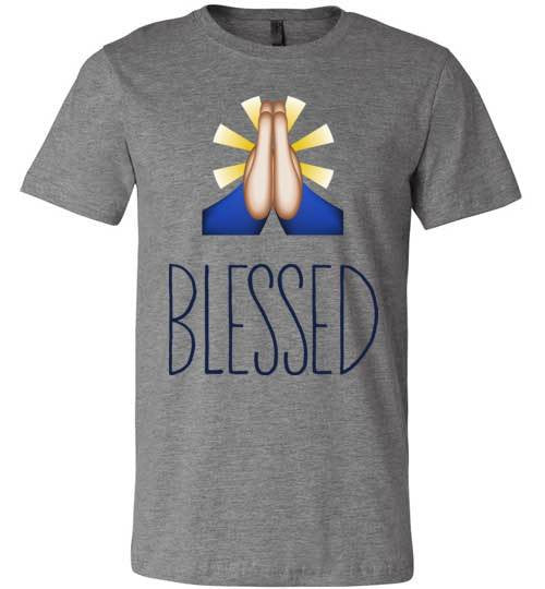 Blessed | Unisex White T-Shirt | Eternal Weekend - 2