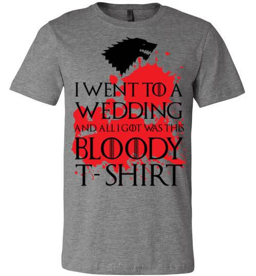 Bloody Wedding Shirt | Unisex White T-Shirt | Eternal Weekend - 2