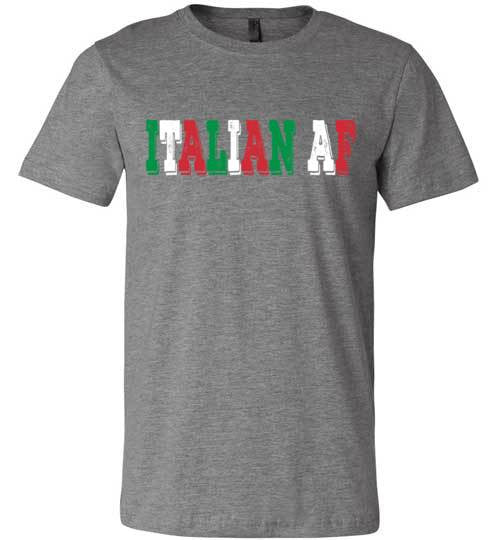 Italian AF | Unisex Black T-Shirt | Eternal Weekend - 2
