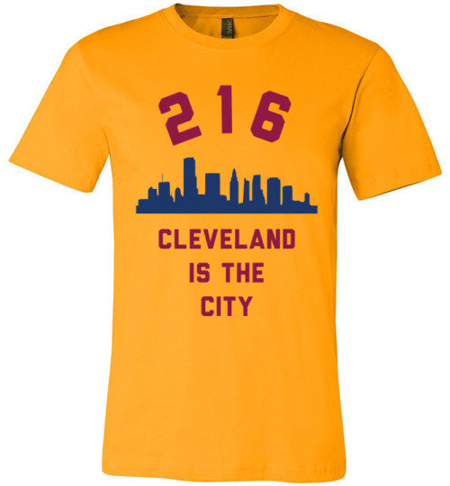216 Cleveland Is The City | Unisex Gray T-Shirt | Eternal Weekend - 2