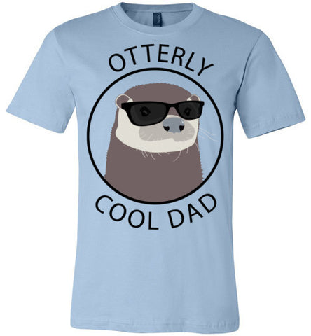 Otterly Cool Dad | Unisex White T-Shirt | Eternal Weekend - 1
