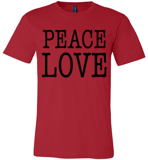 Peace Love Shirt | Unisex White T-Shirt | Eternal Weekend - 3