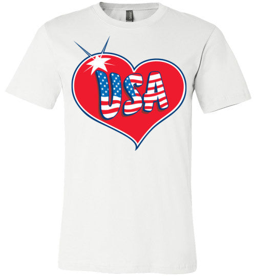 USA Love | Unisex Gray T-Shirt | Eternal Weekend - 2