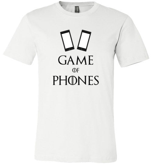 Game of Phones | Unisex Gray T-Shirt | Eternal Weekend - 2