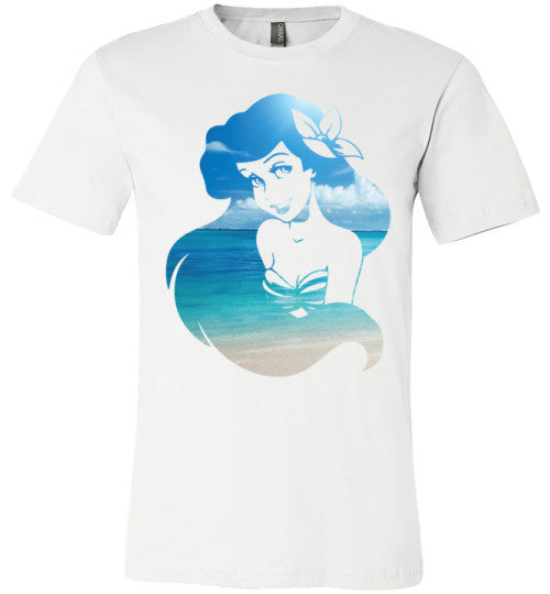 Beach Mermaid | Unisex White T-Shirt | Eternal Weekend - 1