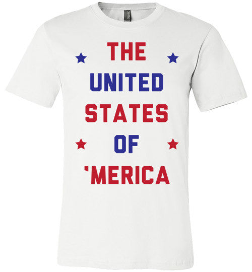 The United States Of 'Merica | Unisex Gray T-Shirt | Eternal Weekend - 2