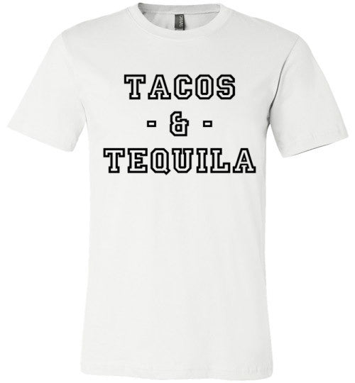 Tacos And Tequila | Unisex Gray T-Shirt | Eternal Weekend - 2