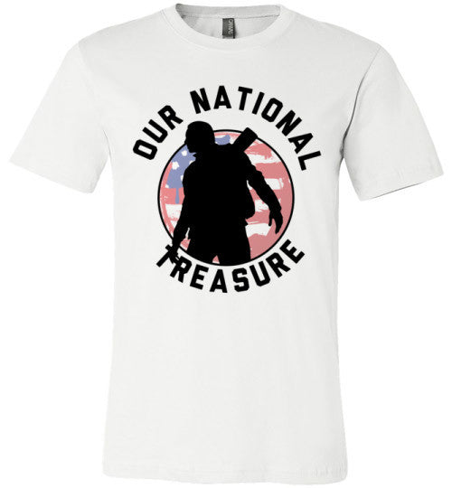 Our National Treasure | Unisex Gray T-Shirt | Eternal Weekend - 2