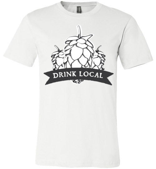 Drink Local Beer | Unisex Gray T-Shirt | Eternal Weekend - 2