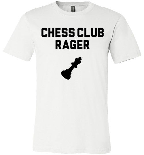 Chess Club Rager T-Shirt | Unisex Gray T-Shirt | Eternal Weekend - 4