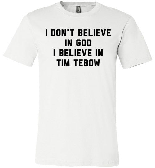 I Believe In Tim Tebow | Unisex Gray T-Shirt | Eternal Weekend - 2