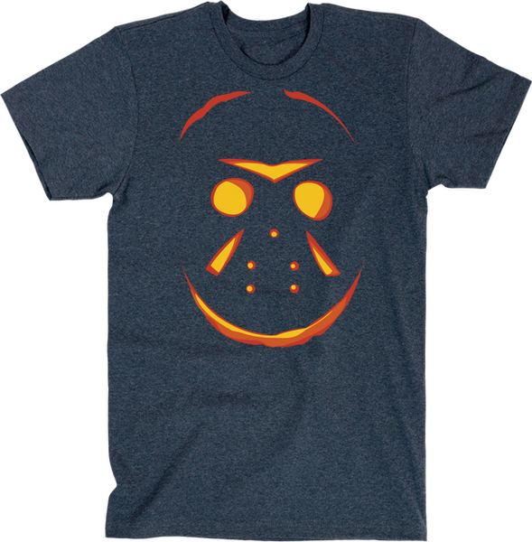 Jason Pumpkin (Halloween) | Unisex Black T-Shirt | Eternal Weekend - 3
