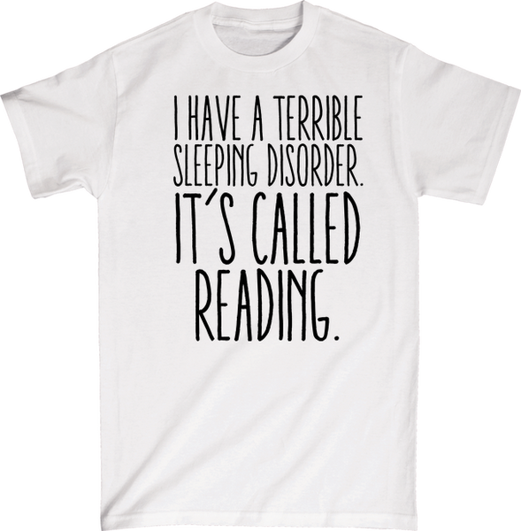 I Have A Terrible Sleep Habit Called Reading | Unisex Gray T-Shirt | Eternal Weekend - 3