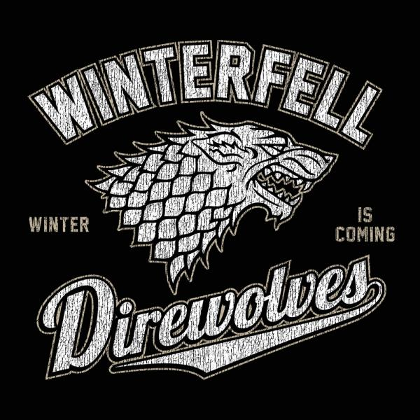 Winterfell Direwolves Men's T-Shirt