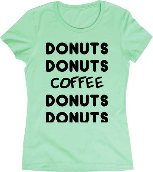Donuts Donuts Coffee Donuts Donuts | Apparel | Eternal Weekend - 3
