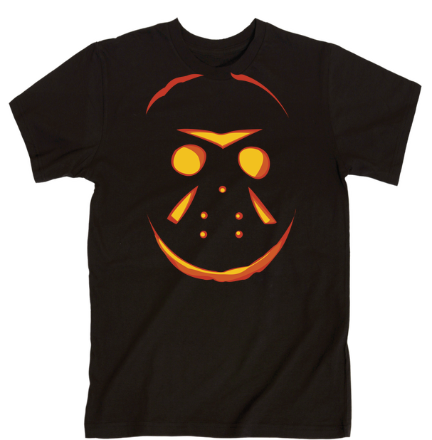 Jason Pumpkin (Halloween) | Unisex Black T-Shirt | Eternal Weekend - 1