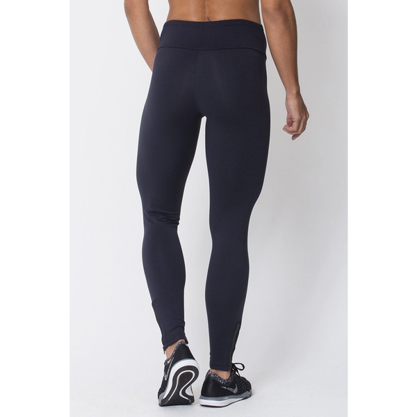 Black Zip Up Legging