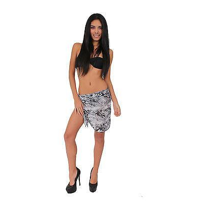 Chiffon Printed Sarong Short Length