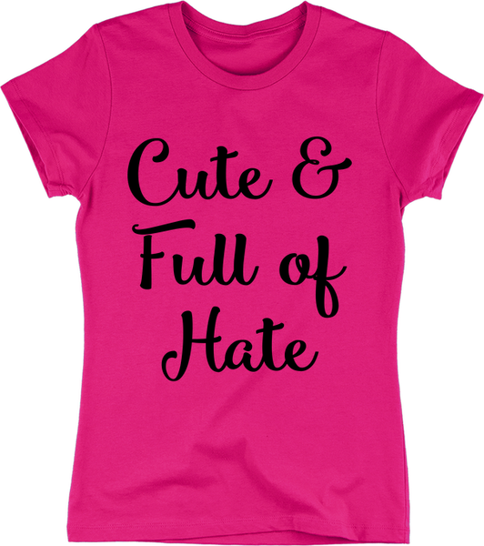 Cute & Full of Hate | Apparel | Eternal Weekend - 3