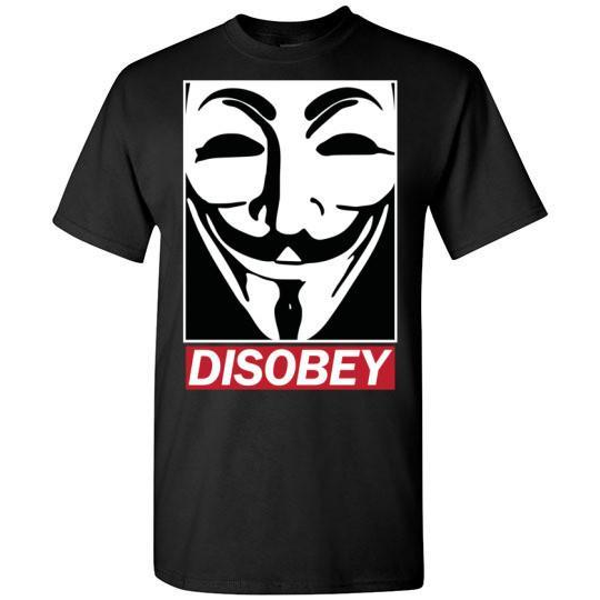 Guy Fawkes Disobey T-Shirt