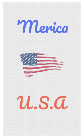 'Merica Beach Towel - USA! - JG