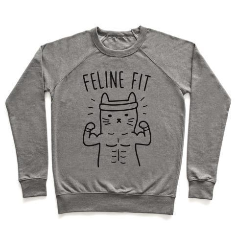FELINE FIT CREWNECK SWEATSHIRT