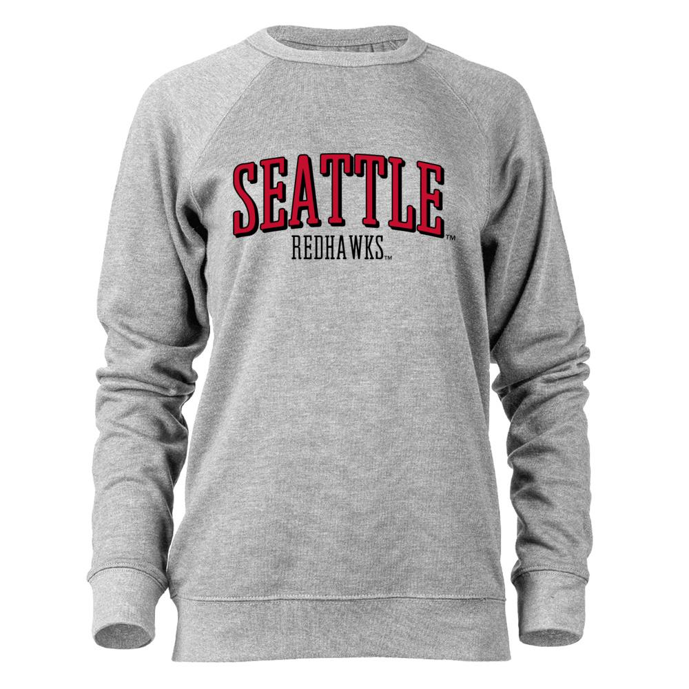 NCAA Seattle Redhawks RYLSTL07 French Terry Raglan Crewneck