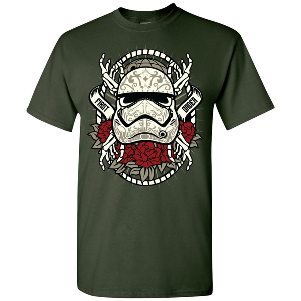 First Order Storm Trooper Sugar Skull Tee