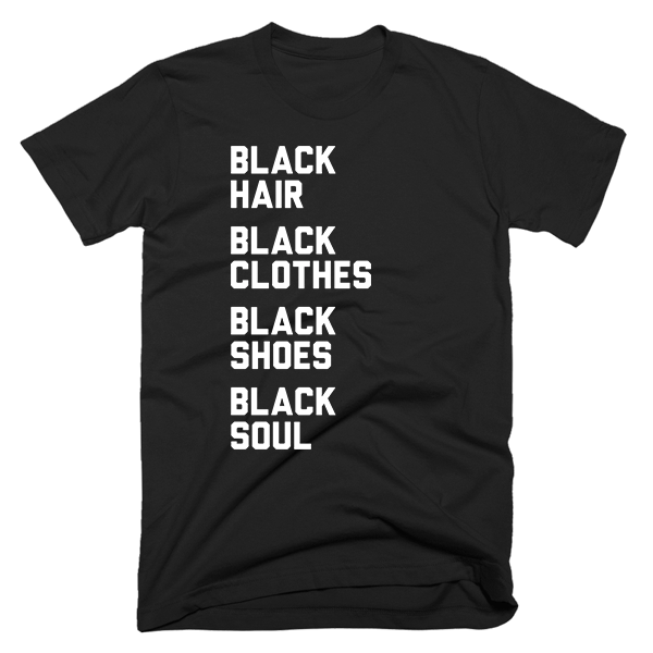 Black Everything | Unisex Black T-Shirt | Eternal Weekend - 1