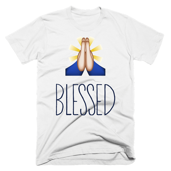 Blessed | Unisex White T-Shirt | Eternal Weekend - 1