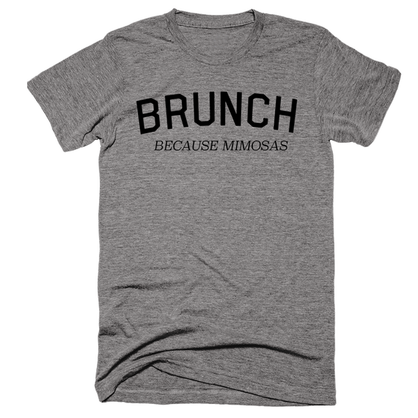 Brunch Because Mimosas | Unisex Gray T-Shirt | Eternal Weekend - 2