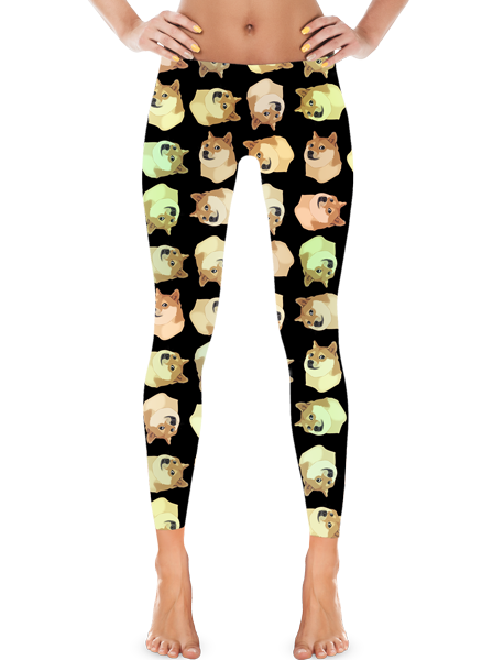 Doge Leggings | Leggings | Eternal Weekend - 1