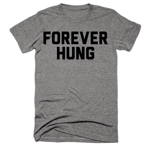 Forever Hung | Unisex Gray T-Shirt | Eternal Weekend - 1