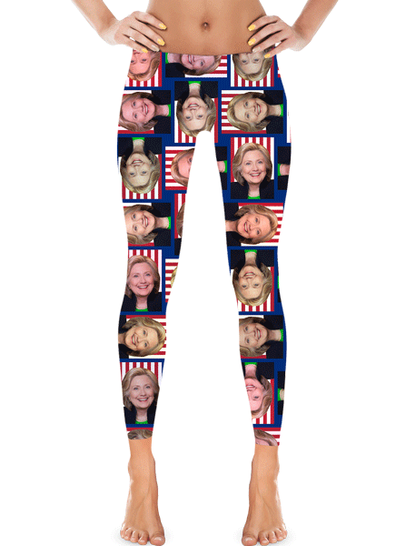 Hillary Clinton Leggings | Leggings | Eternal Weekend - 1