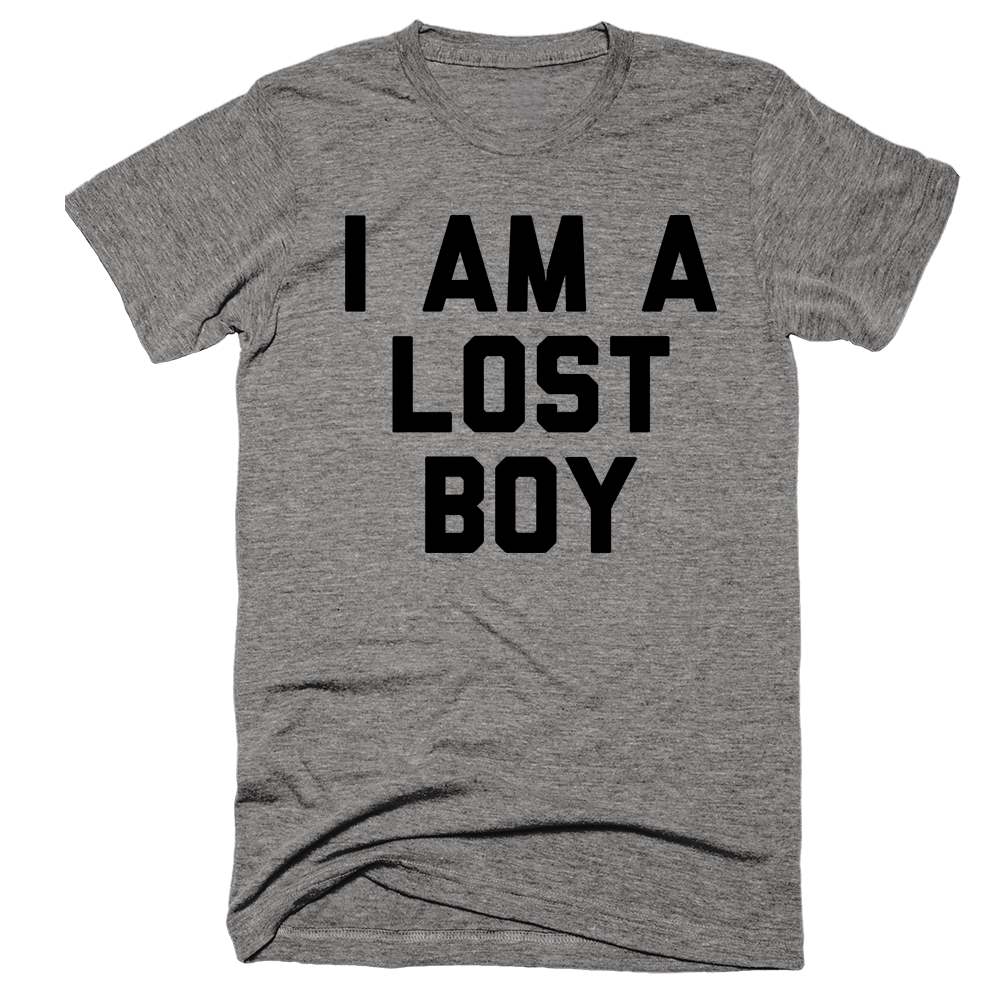 I Am A Lost Boy | Unisex Gray T-Shirt | Eternal Weekend - 1