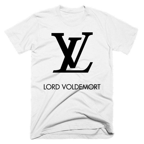 Lord Voldemort LV | Unisex White T-Shirt | Eternal Weekend - 1