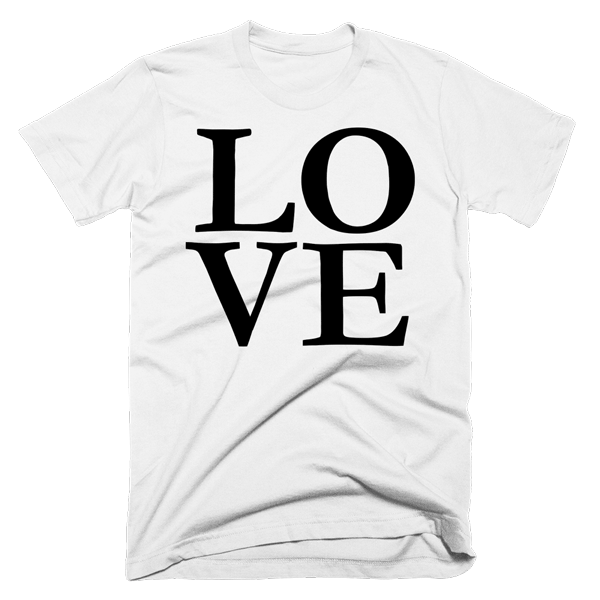 Love | Unisex White T-Shirt | Eternal Weekend - 1