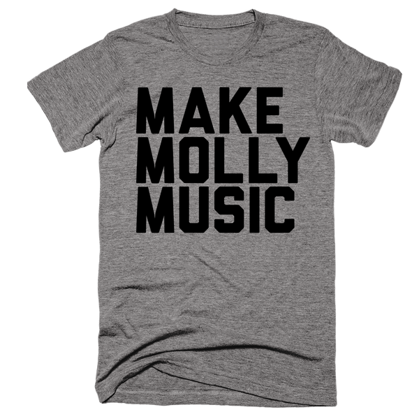 Make Molly Music | Unisex Gray T-Shirt | Eternal Weekend - 1